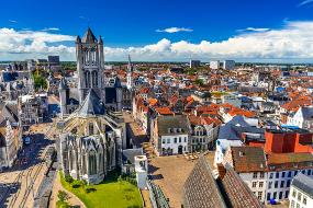 Cheap buses to Ghent